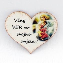"Magnetka ""viera v anjela"""