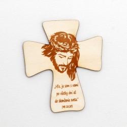 Magnetka krížik Ježiš