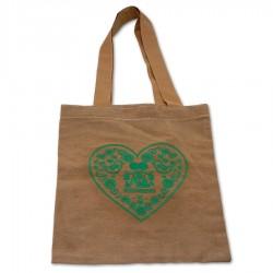Taška s výšivkou zelené...