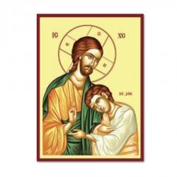 Ikona Ježiš a Ján I.