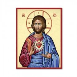Ikona Božské Srdce Pána Ježiša
