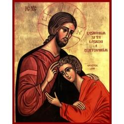Ikona Ježiš a Ján II.